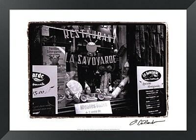Evive Designs Cafe Charm, Paris VI by Laura Denardo Framed Photographic Print