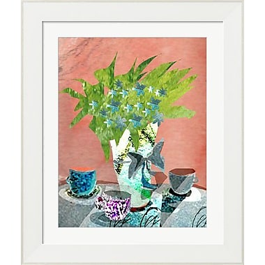 Evive Designs Floral Still Life by Holly Mcgee Framed Painting Print
