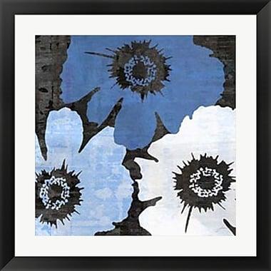 Evive Designs Bloomer Squares XIV by James Burghardt Framed Painting Print