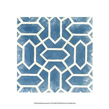 Evive Designs Small Modern Symmetry V by Chariklia Zarris Graphic Art