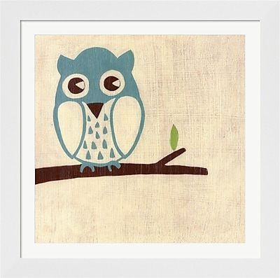 Evive Designs Best Friends Owl by Chariklia Zarris Framed Painting Print