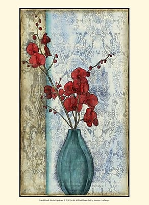 Evive Designs Small Orchid Opulence II (P) by Jennifer Goldberger Graphic Art