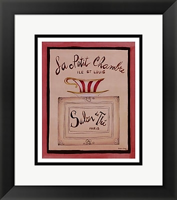 Evive Designs La Petit Chambre by Katharine Gracey Framed Vintage Advertisement