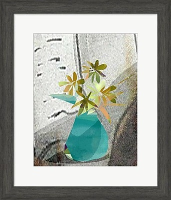 Evive Designs Abstract Flowers by Holly Mcgee Framed Painting Print