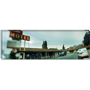 iCanvas Panoramic 'Aurora Avenue, Seattle, Washington State' Photographic Print on Canvas