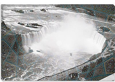 iCanvas Canada Niagra Falls 4 Photographic Print on Canvas; 18'' H x 26'' W x 0.75'' D