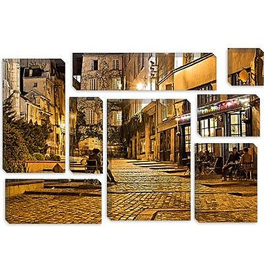 iCanvas ''Night Mood'' by Sebastien Lory Painting Print on Canvas; 18'' H x 26'' W x 0.75'' D