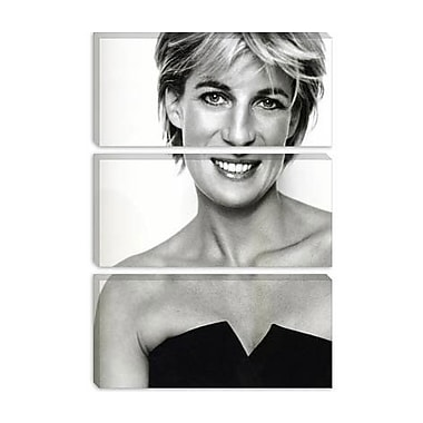 iCanvas Political 'Princess Diana Portrait' Photographic Print on Canvas; 40'' H x 26'' W x 0.75'' D