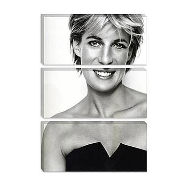 iCanvas Political 'Princess Diana Portrait' Photographic Print on Canvas; 12'' H x 8'' W x 0.75'' D