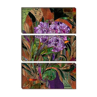 iCanvas 'Manaji' by Mindy Sommers Painting Print on Canvas; 18'' H x 12'' W x 1.5'' D