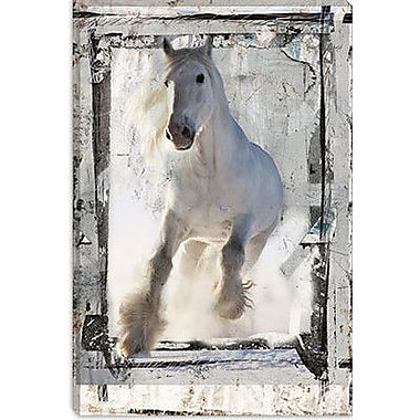 iCanvas 'Mustang Makarova' by Luz Graphics Graphic Art on Canvas; 40'' H x 26'' W x 0.75'' D