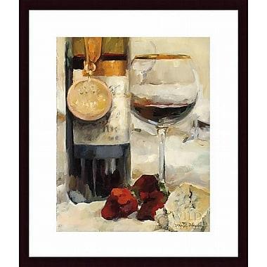 Printfinders 'Award Winning Wine II' by Marilyn Hageman Framed Painting Print