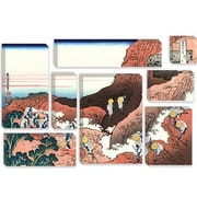 iCanvas 'Climbing on Mt. Fuji' by Katsushika Hokusai Painting Print on Canvas by