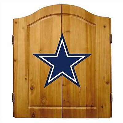 Imperial International NFL Team Logo Complete Dart Cabinet Set; Dallas Cowboys