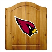Imperial NFL Team Logo Complete Dart Cabinet Set; Arizona Cardinals