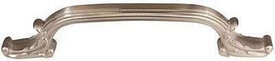 Alno Ornate 6'' Center Arch Pull; Satin Nickel