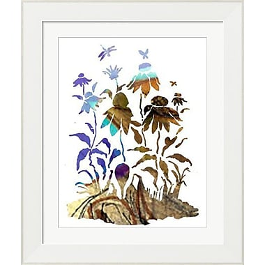 Evive Designs Coneflowers by Holly Mcgee Framed Painting Print