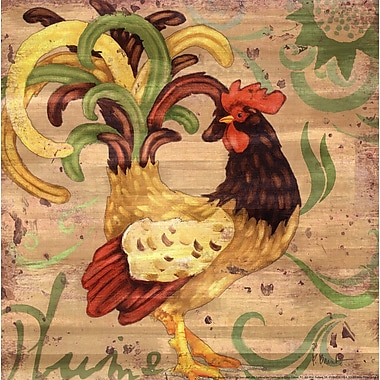 Evive Designs Royale Rooster III by Paul Brent Painting Print