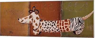 Evive Designs Fashion Puppy I by Patricia Pinto Painting Print on Canvas