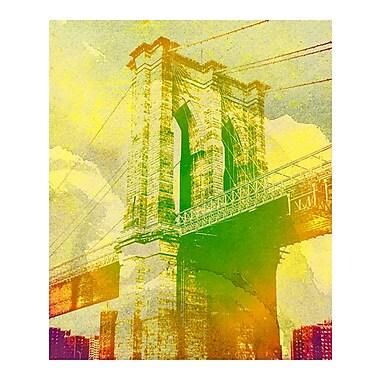 Evive Designs Brooklyn Bridge by Evie Empire Graphic Art