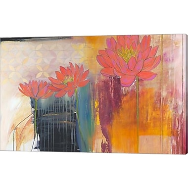 Evive Designs Billboard for Love II by Jodi Fuchs Painting Print on Wrapped Canvas