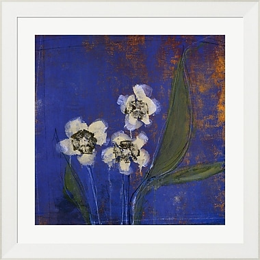 Evive Designs Orchid Study I by Maeve Harris Framed Painting Print