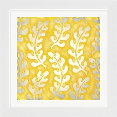Evive Designs Classical Leaves I by Chariklia Zarris Framed Graphic Art