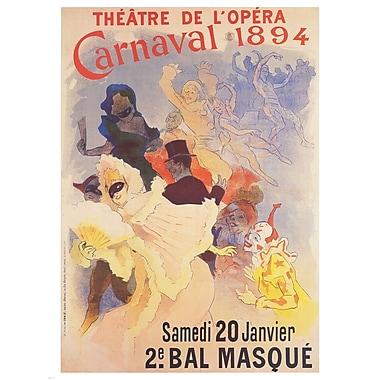 Evive Designs Theatre de l'Opera by Jules Cheret Vintage Advertisement