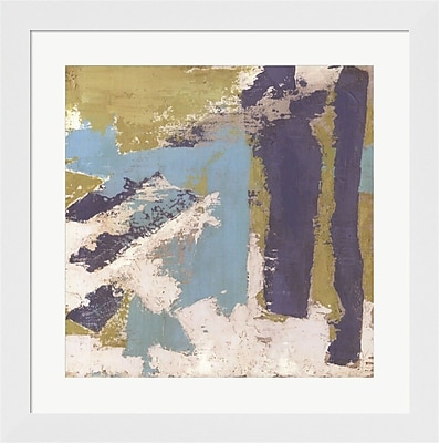 Evive Designs Chelsea Abstract II by Megan Meagher Framed Painting Print