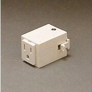 PLC Lighting Outlet Adaptor; Black