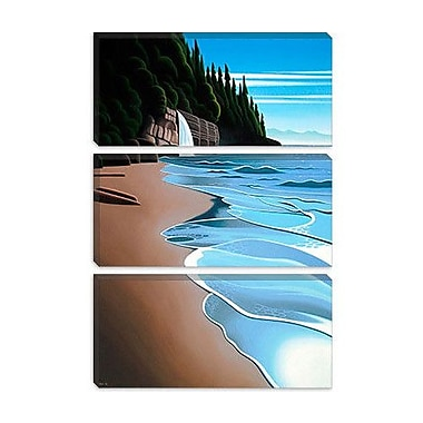 iCanvas 'Mystic Beach' by Ron Parker Graphic Art on Canvas; 26'' H x 18'' W x 0.75'' D
