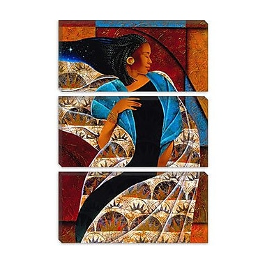 iCanvas 'Nyam' by Keith Mallett Painting Print on Canvas; 40'' H x 26'' W x 0.75'' D