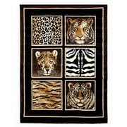 DonnieAnn Company Skinz Skin And Tiger Area Rug