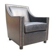 Moe's Home Collection Stratford Lounge Chair; Black