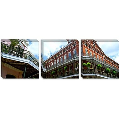 iCanvas Wrought Iron Balcony New Orleans, Los Angeles by Maria Trad Photographic Print on Canvas