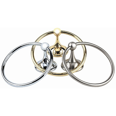 Alno Yale Wall Mounted Towel Ring; Bronze
