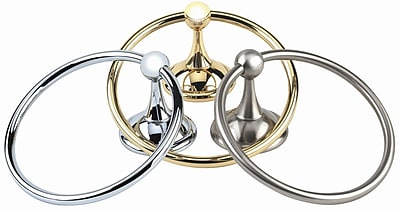 Alno Yale Wall Mounted Towel Ring; Chocolate Bronze