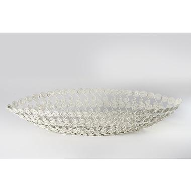 Rhadi Living Swirl Boat Fruit Bowl
