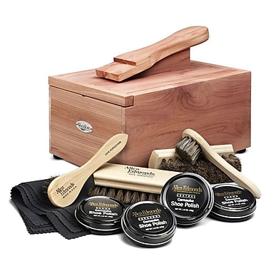 Woodlore Shoe Care Valet w/ Starter Kit II