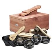 Woodlore Shoe Care Valet w/ Starter Kit II