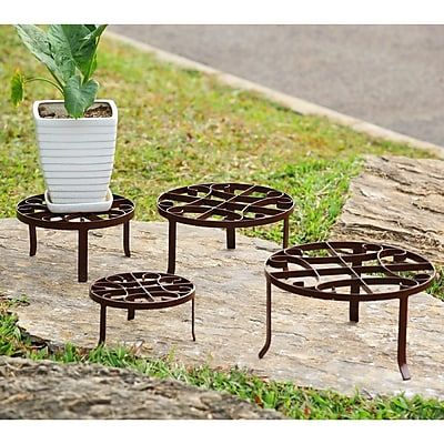 SPI Home 4 Piece Novelty Plant Stand Set (Set of 4)