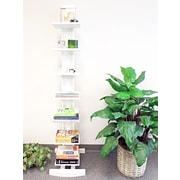 Proman 68'' Accent Shelves Bookcase; White