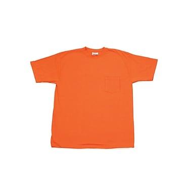 Mutual Industries ANSI Hydrowick Plain Tee Shirt, Orange, 2XL