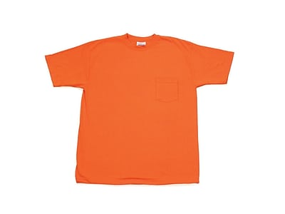Mutual Industries ANSI Hydrowick Plain Tee Shirt, Orange, 4XL