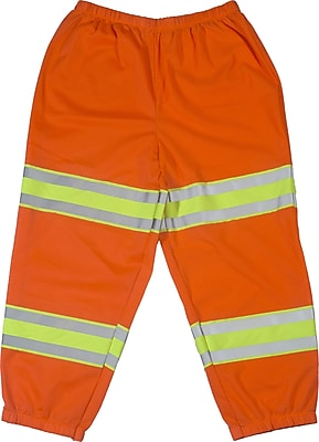 Mutual Industries ANSI Class E Mesh Pants, Orange