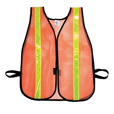 Mutual Industries MiViz Heavy Weight Safety Vest With 1 3/8