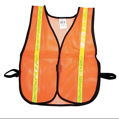 Mutual Industries MiViz Soft Mesh Safety Vest With 1