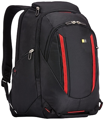 """Case Logic® BPEP-115 Evolution Plus Backpack For 15.6"""" Laptop and Tablet, Black"""