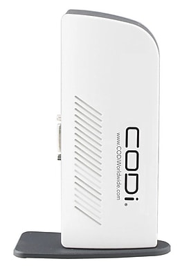 Codi® USB 3.0 Replicator Docking Station With Dual Display Port
