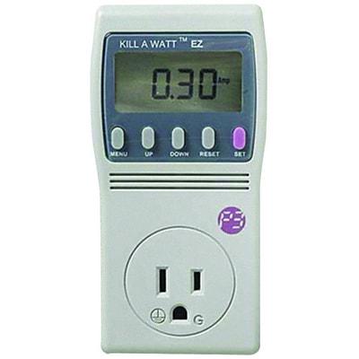 P3 International p4460 Kill A Watt® EZ Electricity Usage Monitor, 1875 VA